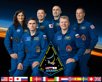 Expedition 33 crew portrait