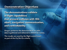 Demonstration Objectives