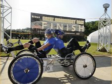 Students compete in the 2012 Great Moonbuggy Race at the U.S. Space and Rocket Center in Huntsville, Ala.