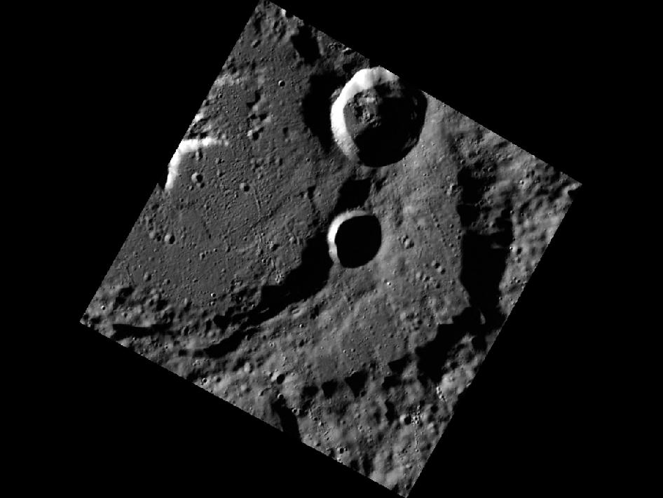 Image from Orbit of Mercury: The High-Incidence Campaign