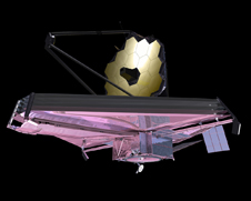 artists concept of James Webb Telescope