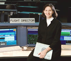 Flight Director Cathy Koerner