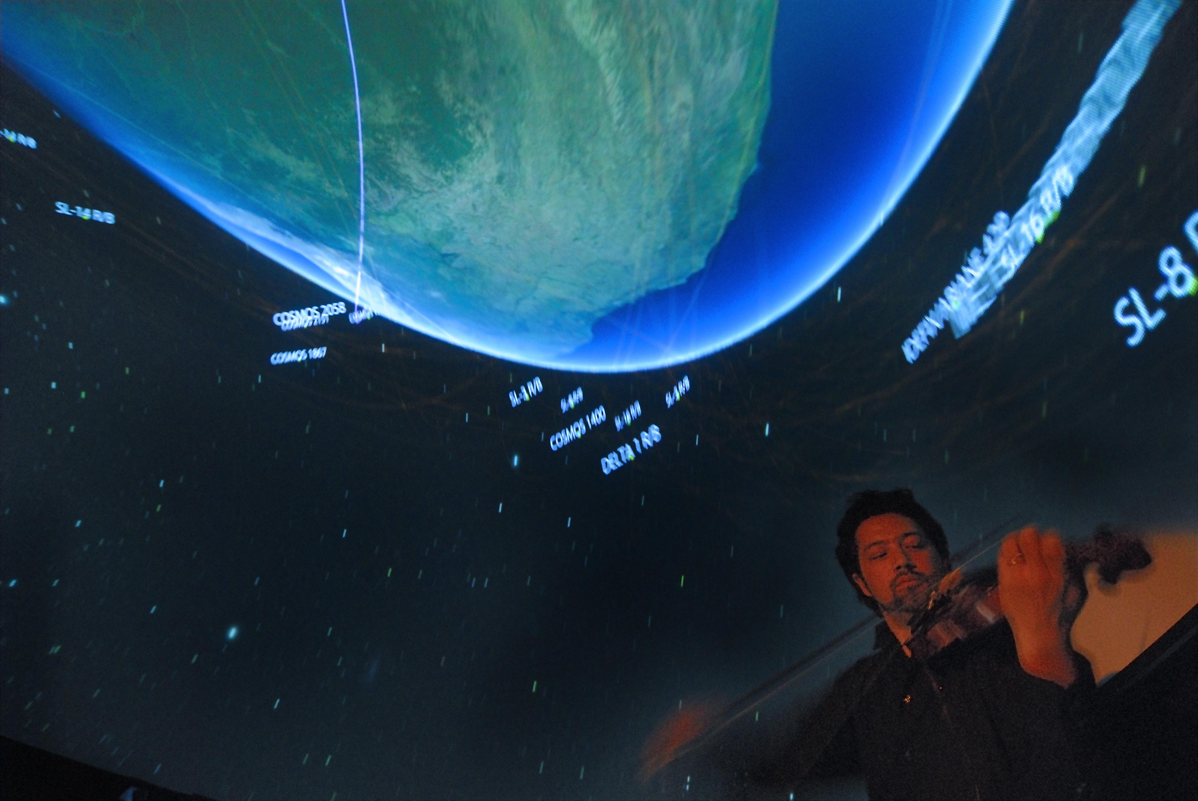 NASA - 'Beautiful Earth' Combines Live Music, American