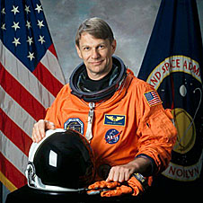 Astronaut Piers Sellers