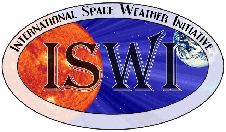 The International Space Weather Initiative (ISWI) logo.