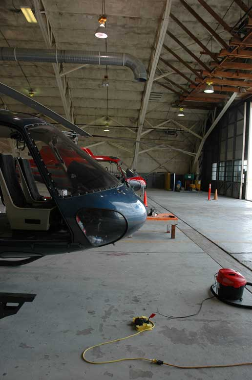 helicopters that will be used in sample return