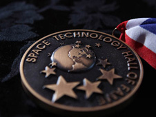 image of Space Technology Hall of Fame medal