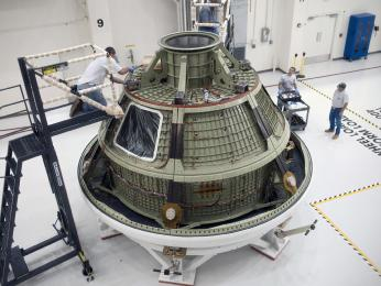 Orion crew vehicle test version