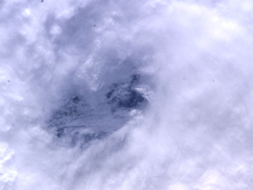Hurricane Frances from the International Space Station