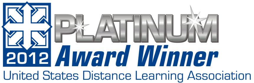 DLN wins Distance Learning Platinum Award