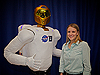 Robonaut and C.J. Kanelakos