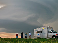 NOAA team examines a Kansas thunderstorm