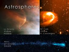 Examples of strong, visible astropheres.