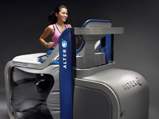 "the AlterG ""anti-gravity"" treadmill"