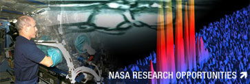 NASA Research Opportunities