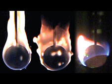The Burning and Suppression of Solids (BASS) experiment