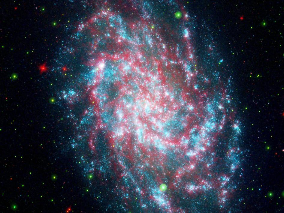 Galaxy NGC598, more commonly known as M33