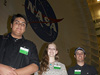 Students from Team FireFly, winners of the 2012 INSPIRE space habitat challenge.