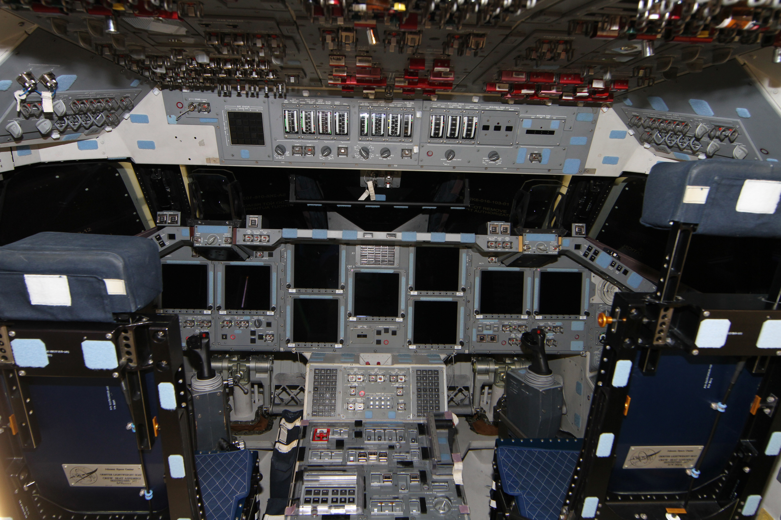 space shuttle launch cockpit view hd - photo #42