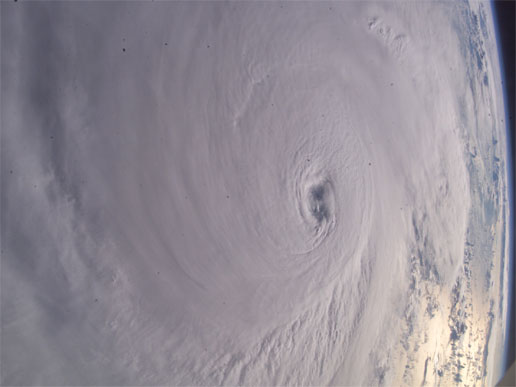 Hurricane Ivan from the International Space Station