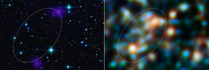Three galaxy clusters of the emerging supercluster, known as RCS2319