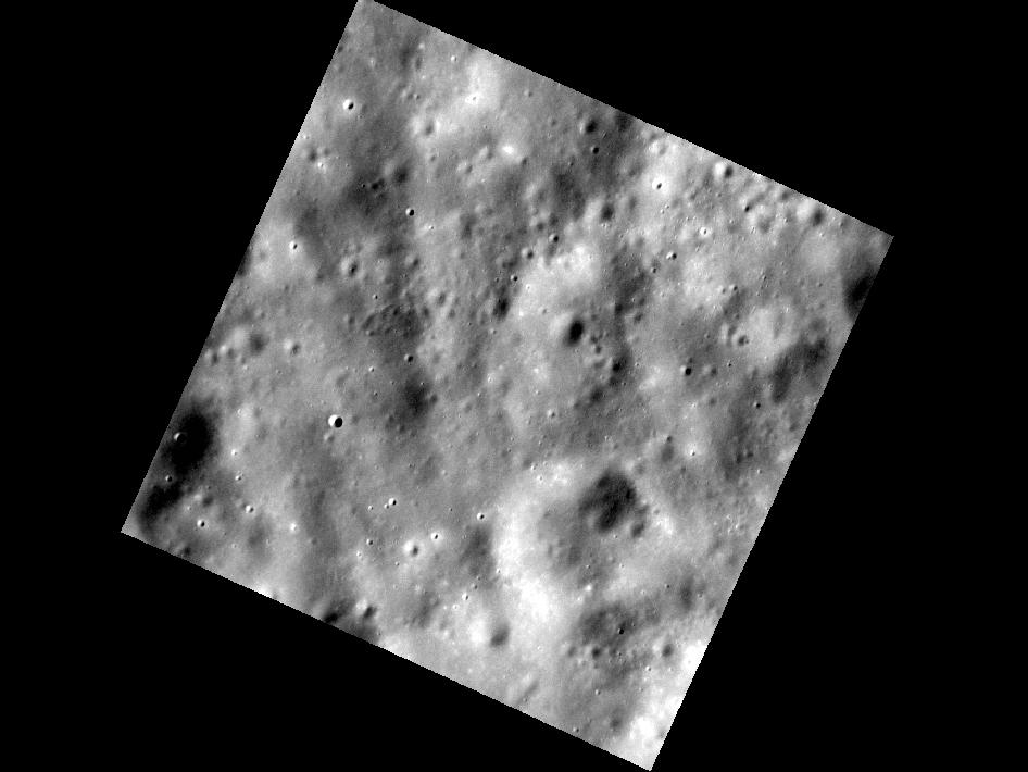 Image from Orbit of Mercury: Pretty, Vacant