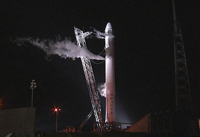 SpaceX launch prepped for Saturday morning launch.