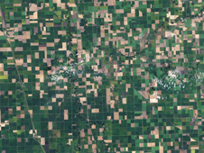 Landsat image of Minnesota