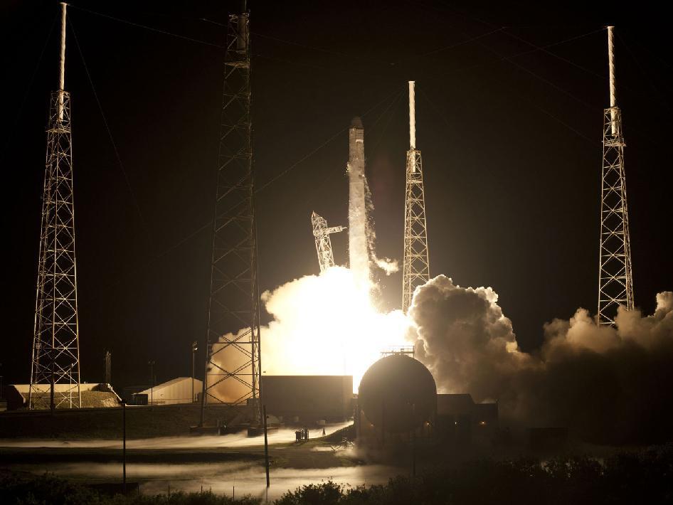spacex dragon launch texas - photo #14