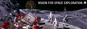 Launch Vision for Space Exploration Interactive Feature