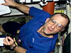 Astronaut Don Pettit on the space station