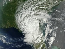 This visible image of Beryl was captured using the MODIS instrument on NASA's Terra satellite on May 28, 2012