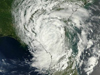 satellite view of Hurricane Beryl over Florida