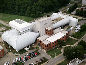 Aerial view of the 16-foot transonic wind tunnel