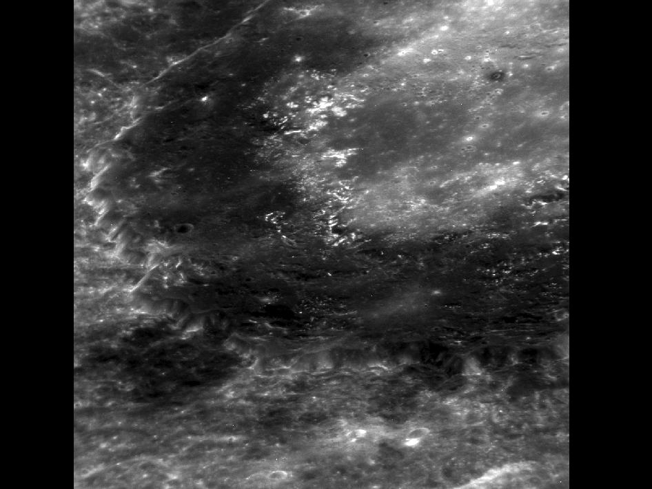 Image from Orbit of Mercury: Zooming in on Derain