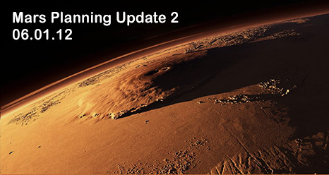 Mars Planning Group Update #2