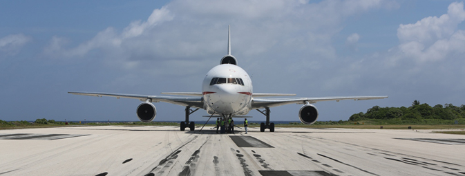 NuSTAR lands at Kwajalein Atoll
