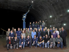 The AMELIA research team in the National Full-Scale Aerodynamic Complex.