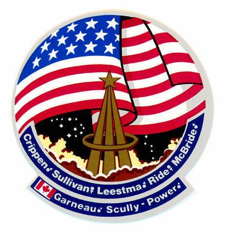 space shuttle challenger logo - photo #9