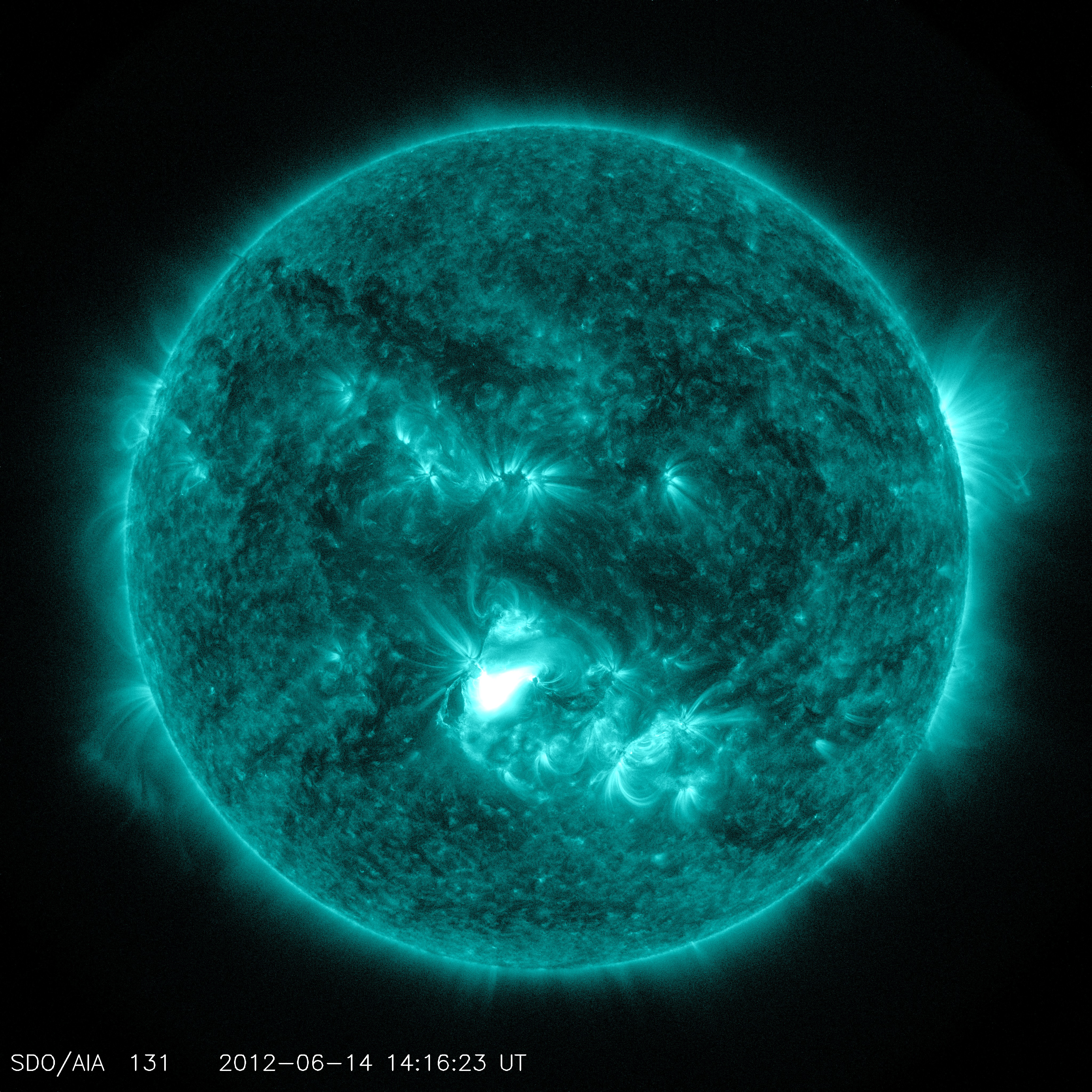 NASA - UPDATE: Two CMEs Hit Earth's Magnetosphere