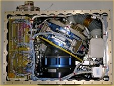 The complete Geoflow laboratory experiment that was installed on the International Space Station. Geoflow is used to verify and improve computer models of fluid convection. (ESA)
