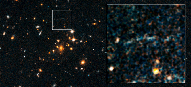 Distance galaxy cluster