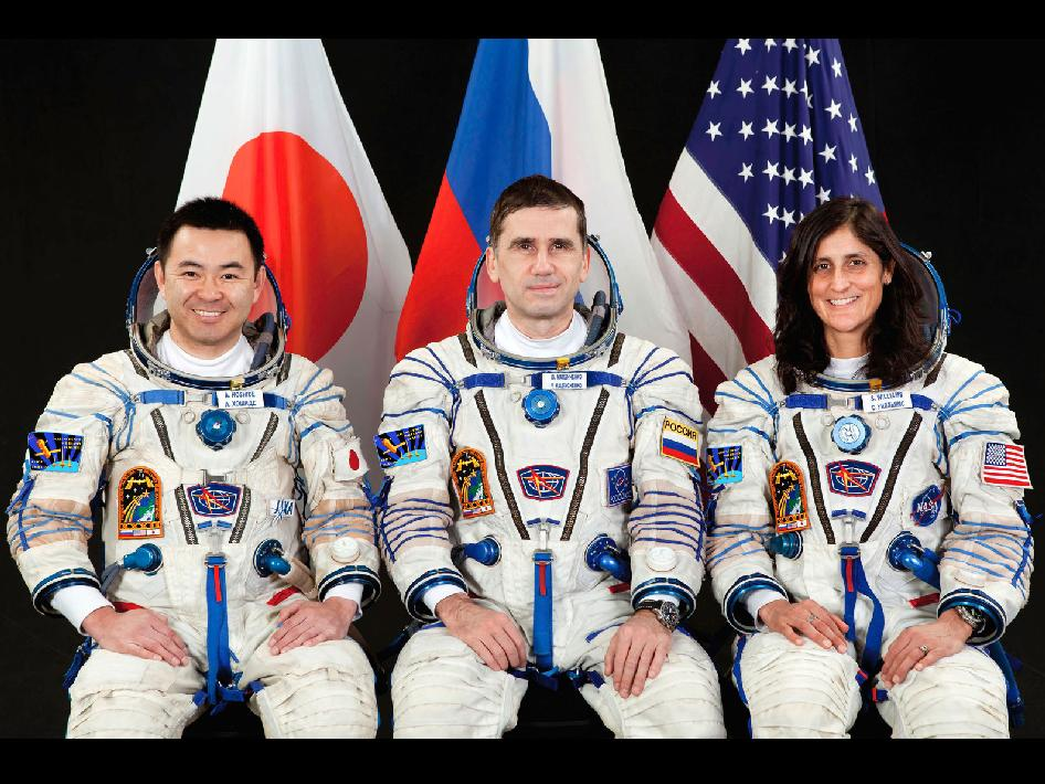 Expedition 32-33 Crew Members
