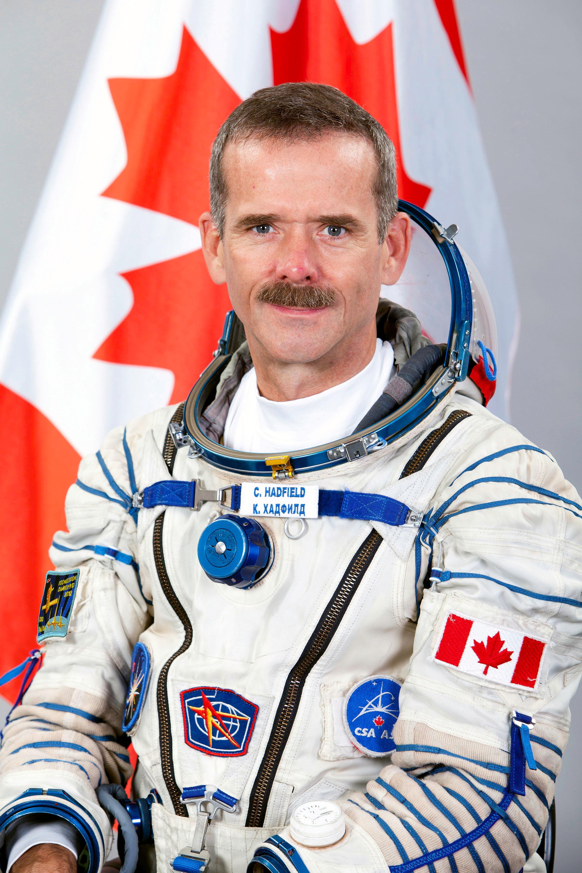 Backup Image Nasa Canadian Space Agency Astronaut Chris Hadfield