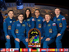 ISS Expedition 32 crew