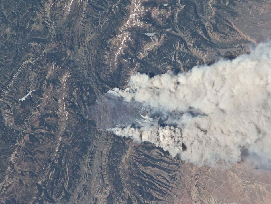 Wild Fires in the Southwestern United States