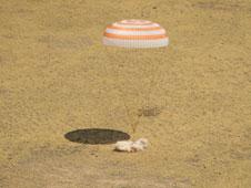 Soyuz TMA-03M landing