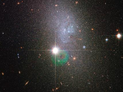 Hubble Sees a Vapor of Stars