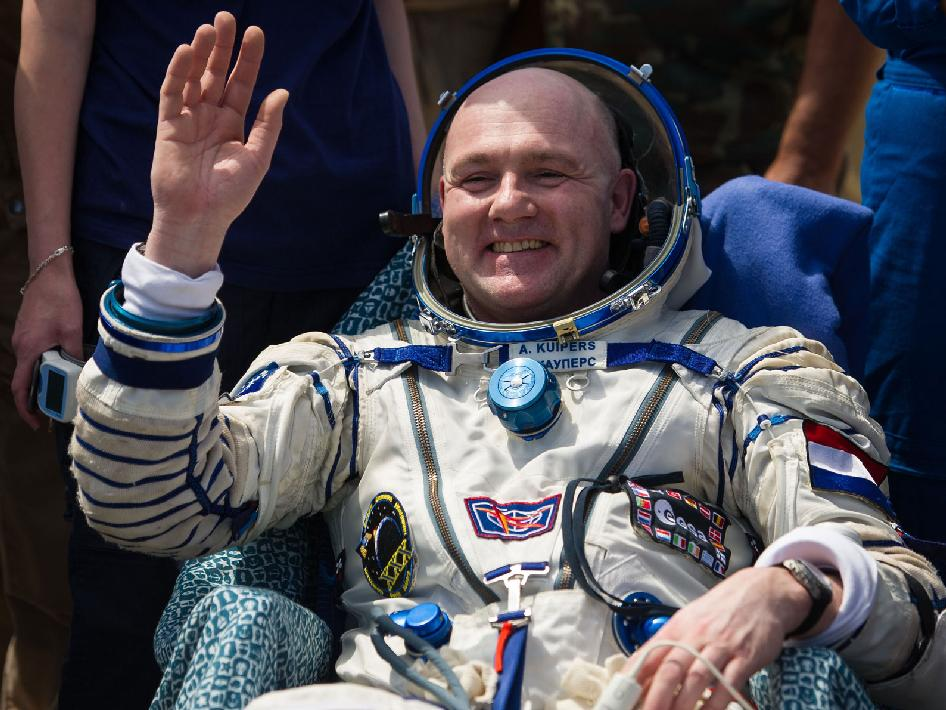 Expedition 31 Flight Engineer Andre Kuipers