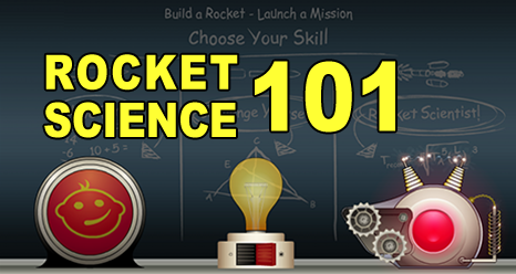 Rocket Science 101 interactive feature